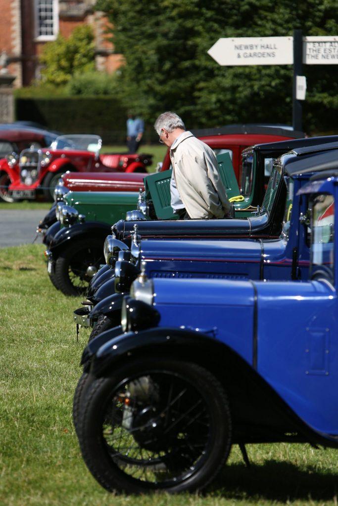 Historical Vehicle Rally - Newby Hall