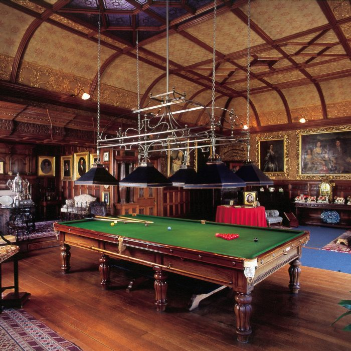 Billiard Rooms: The Library