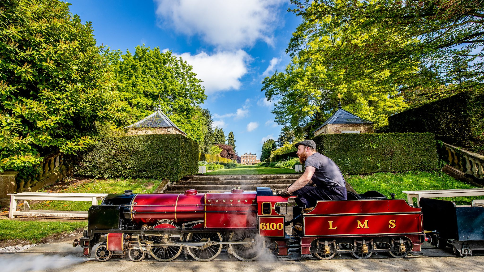 The Miniature Railway - Newby Hall