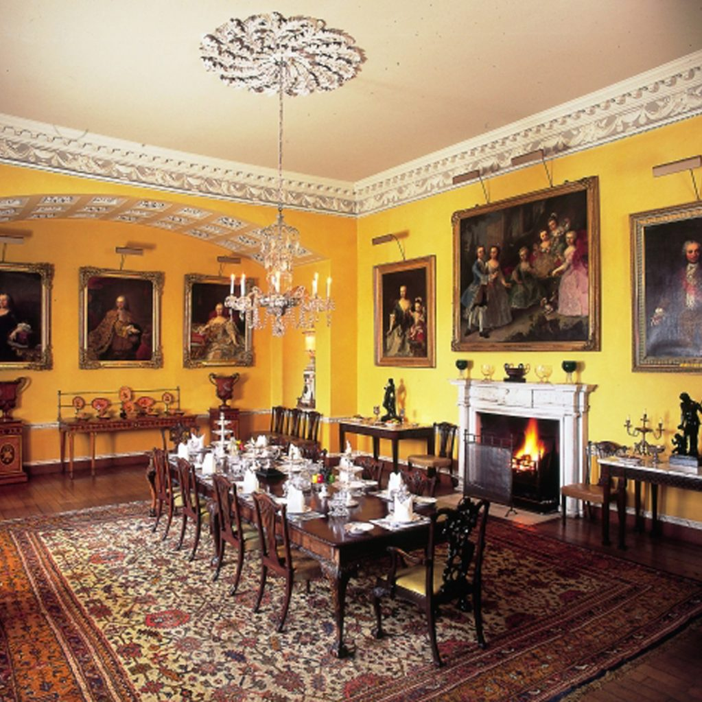 The Dining Room Was Designed In 1807 By 3rd Lord Grantham Around Some Furniture From His Fathers House Other Yorkshire Newby Now Known As