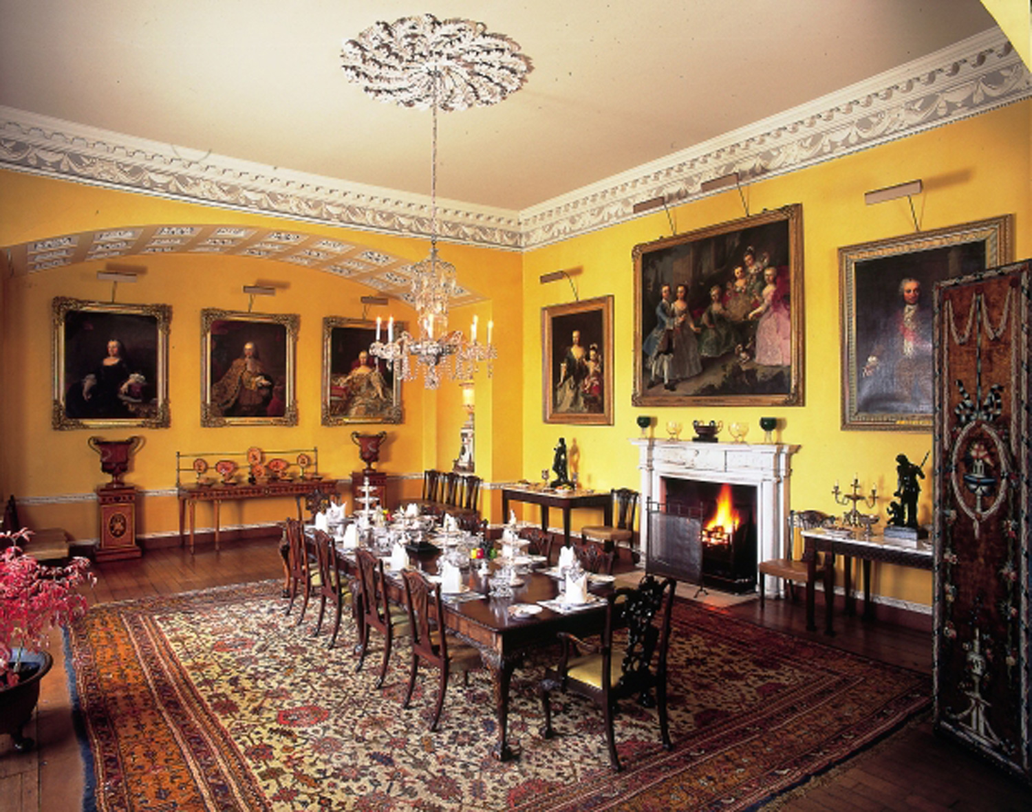The Dining Room Newby Hall