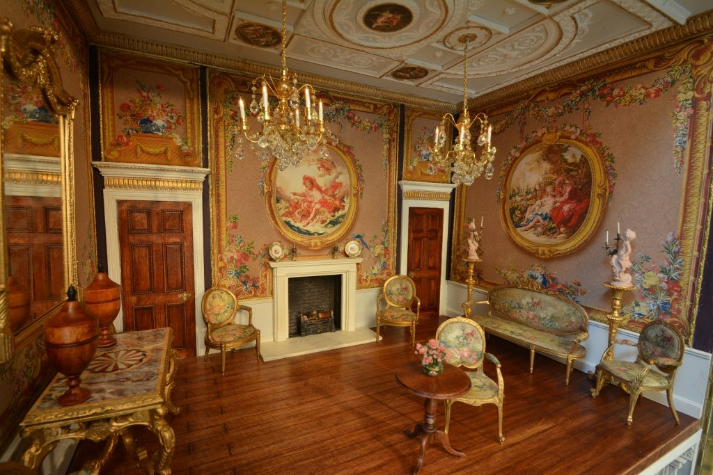 Dollshouse Exhibition Newby Hall