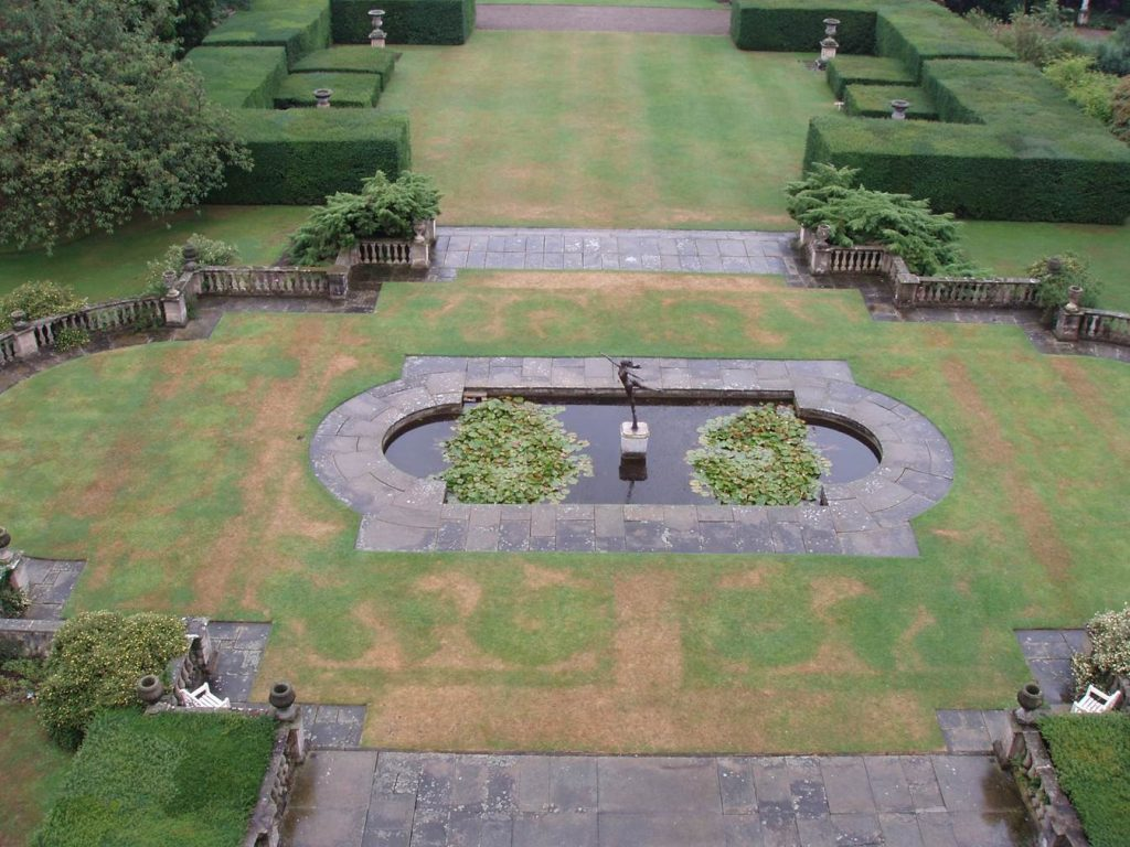History of the Garden-Victorian Parterre
