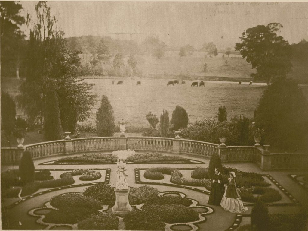 History of the Garden-Victorian Parterre today