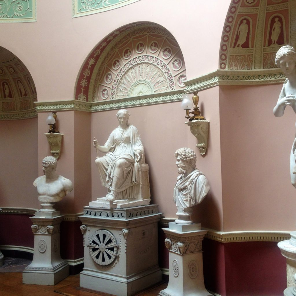the statue gallery